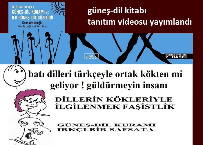 Güneş-Dil Kitabı Tanıtım Videosu Yayımlandı