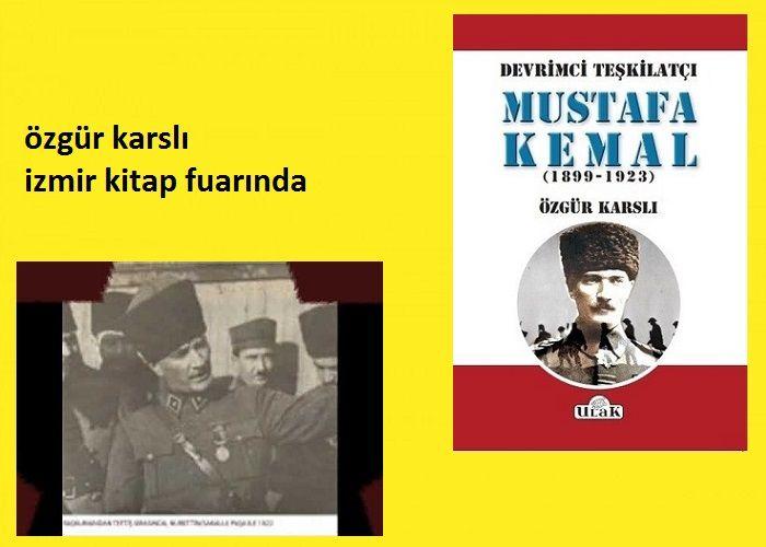 Özgür Karslı İzmir Kitap Fuarı'nda  okurlarıyla buluşuyor.