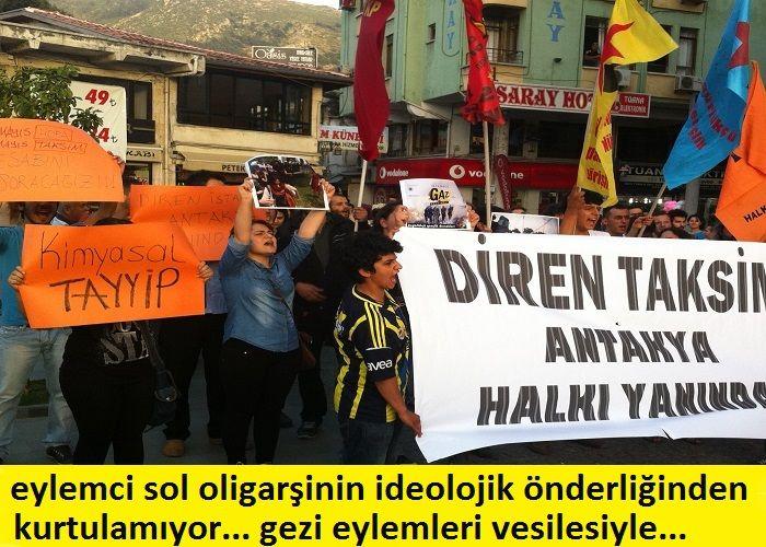 Eylemci Sol, Oligarşinin İdeolojik Önderliğinden Çıkamıyor. Gezi Hareketi vesilesiyle…