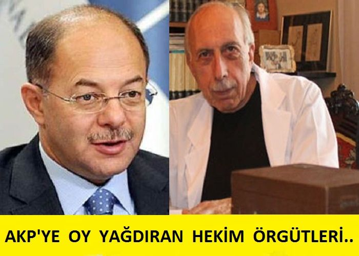 AKP'ye oy ve sempati yağdıran paragöz sağlık çizgisi: Türk Tabipler Birliği..