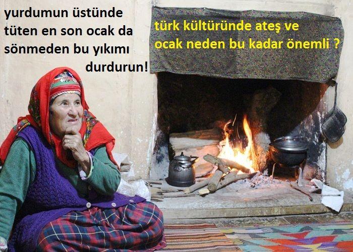 Türk kültüründe ateş ve ocak neden bu kadar önemli?