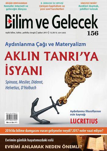 Bilim ve Gelecek'in Şubat sayısı bayilerde!