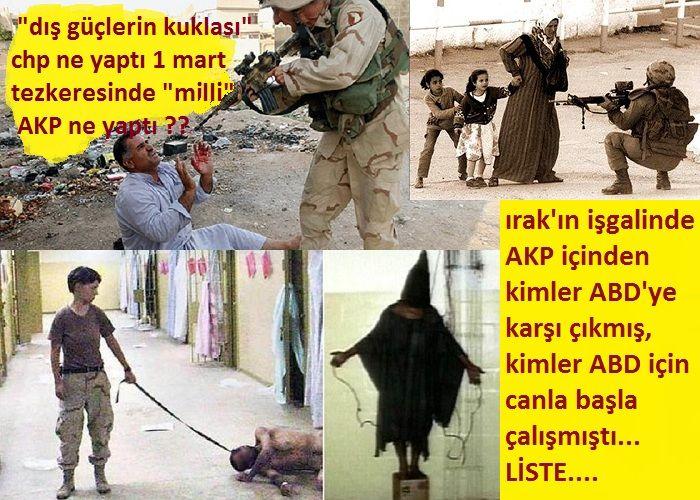 """""""Dış Güçlerin Kuklası"""" CHP 1 Mart tezkeresinde ne yapmıştı, """"milli"""" AKP ne yapmıştı?"""
