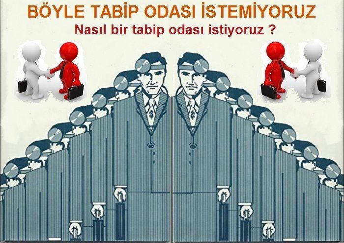 Böyle bir tabip odası istemiyoruz.. İstanbul Tabip Odası seçimi'ne doğru..
