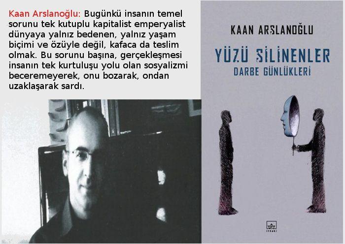 Yüzü Silinenler üzerine Evrensel gazetesinde Kaan Arslanoğlu'yla yapılan söyleşi