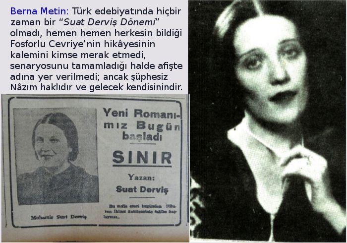 Türk Edebiyatında Bir Kadın: Suat Derviş
