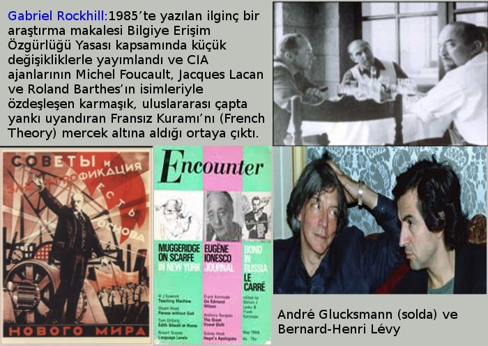 Sartre'a Karşı Foucault: Fransa'da Radikal Solun CIA Destekli Tasfiyesi (*)