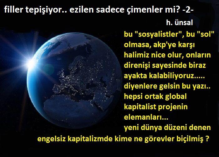 FİLLER TEPİŞİYOR EZİLEN SADECE ÇİMENLER Mİ? - (2)
