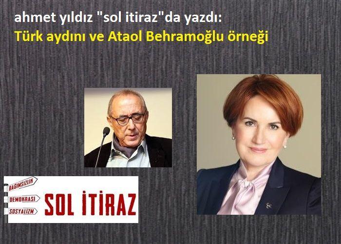 Türk Aydını ve Behramoğlu Örneği