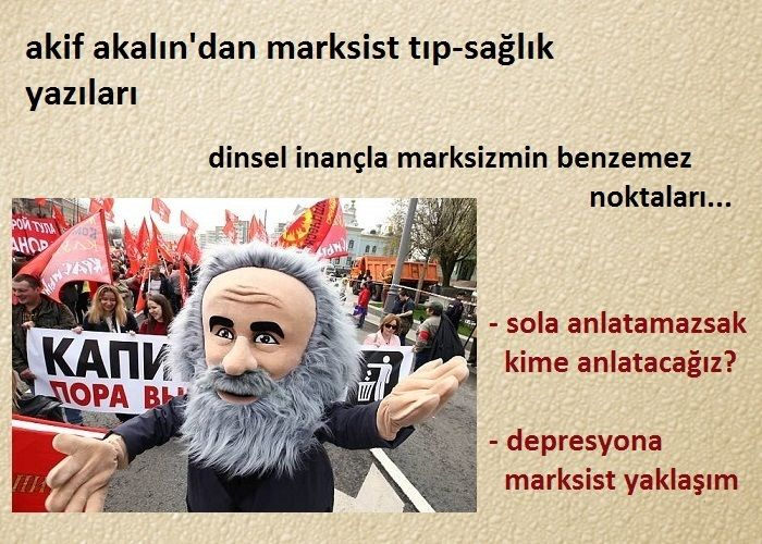 Akif Akalın'dan marksist tıp-sağlık yazıları