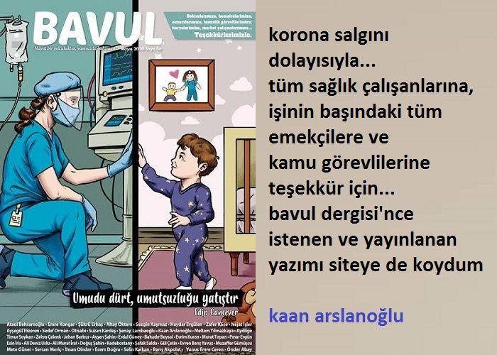 """CORONA İÇİN SAĞLIK ÇALIŞANLARINA TEŞEKKÜR """"BAVUL"""" YAZISI"""