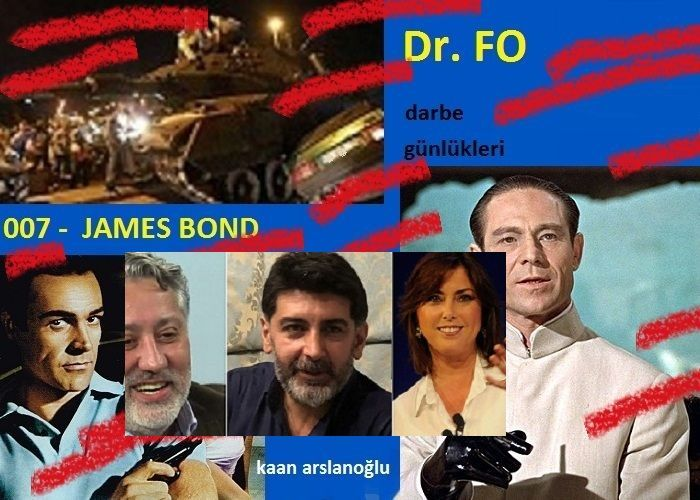 DOKTOR FO - JAMES BOND – DARBE GÜNLÜKLERİ