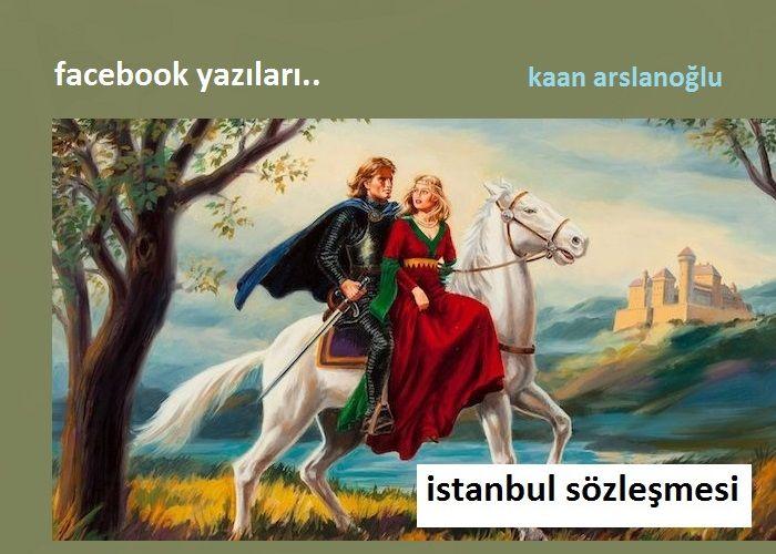 İstanbul Sözleşmesi Facebook Yazıları