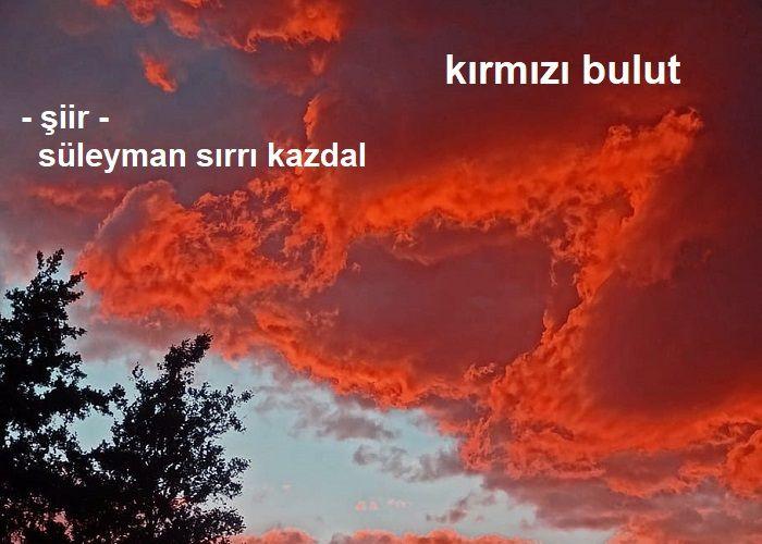 kırmızı bulut