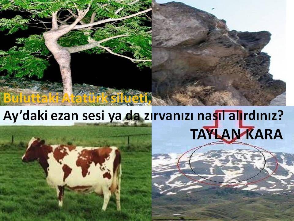 Buluttaki Atatürk silueti, Ay'daki ezan sesi ya da zırvanızı nasıl alırdınız?