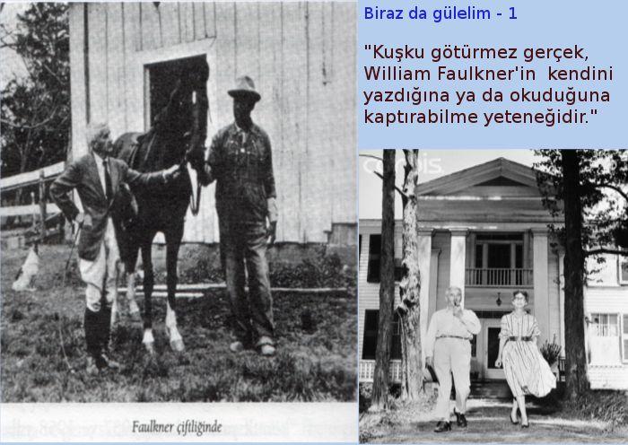 Wıllıam Faulkner: Para çeklerinin bilinci