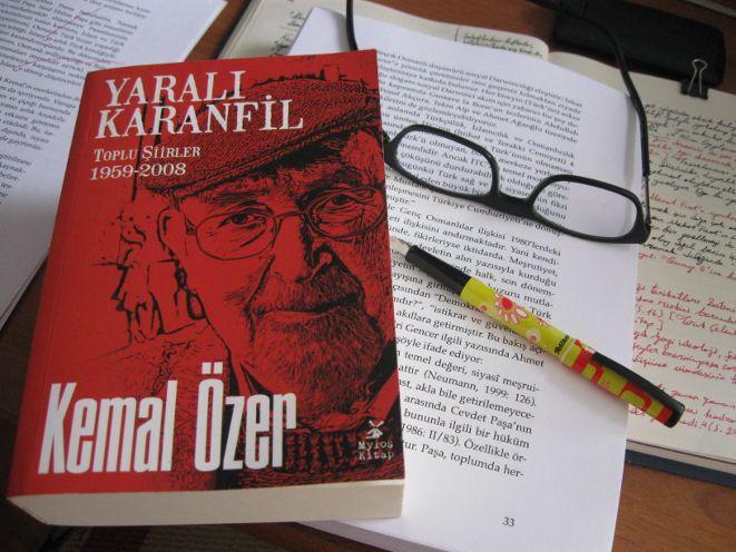 Kemal Özer'in Toplu Şiirleri Yayımlandı