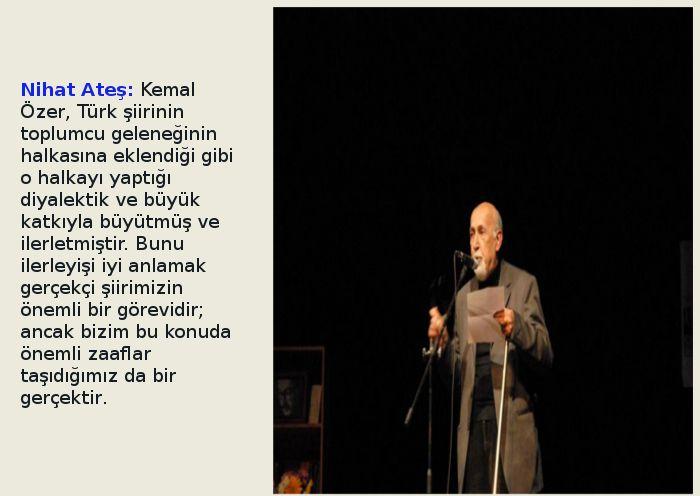 'YENİ BİR BUGÜNÜN' ŞAİRİ: KEMAL ÖZER