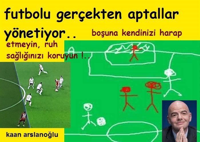 Futbolu Gerçekten Aptallar Yönetiyor